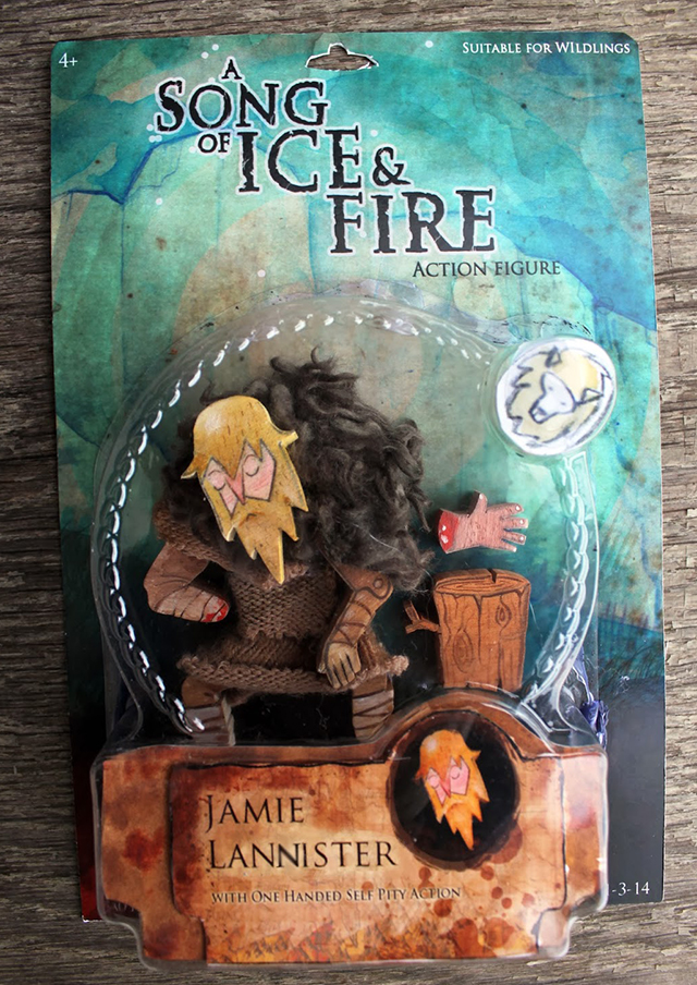A Song Of Fire And Ice Action Figures: Jamie Lanister