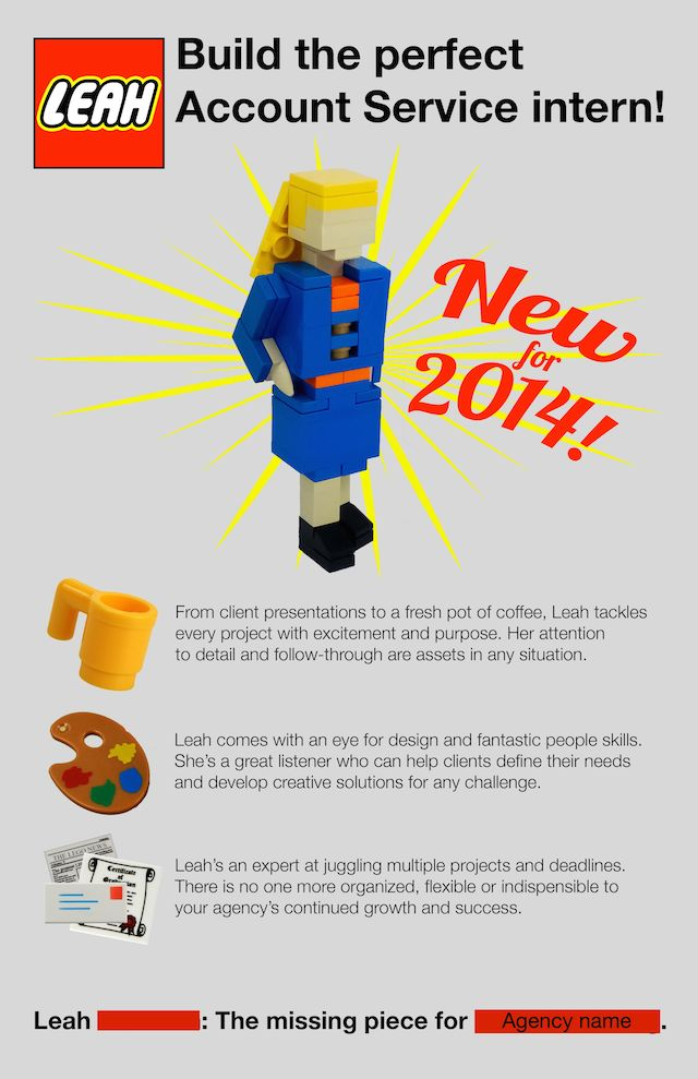 Lego Leah - New For 2014