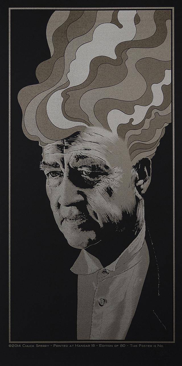In Dreams, David Lynch (satin black) by Chuck Sperry
