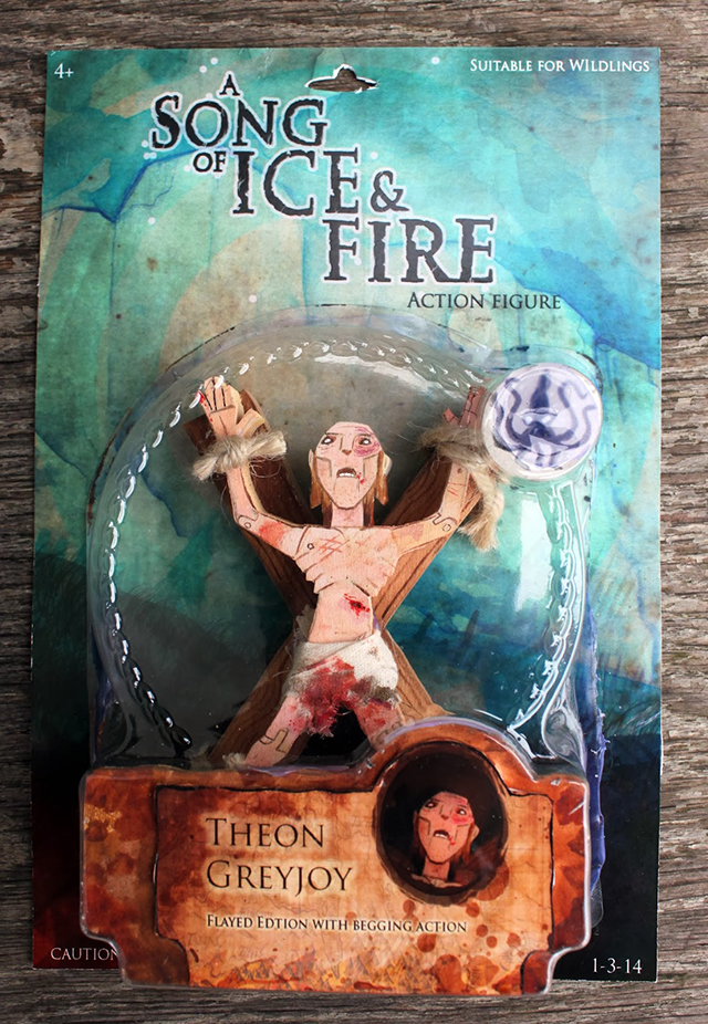A Song Of Fire And Ice Action Figures: Theon Greyjoy