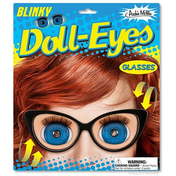 Blinky Doll Eyes Glasses