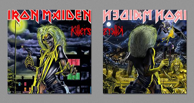Dark Side - Iron Maiden - Killers