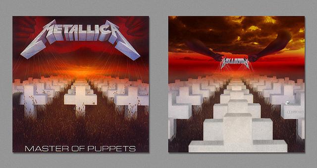 Dark Side - Metallica - Master of Puppets