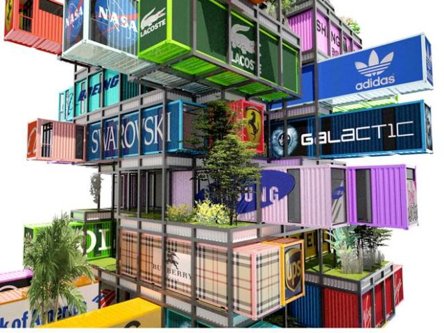 Hive-Inn Shipping Container Hotel