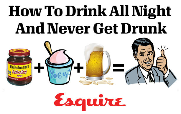 How To Drink All Night And Never Get Drunk
