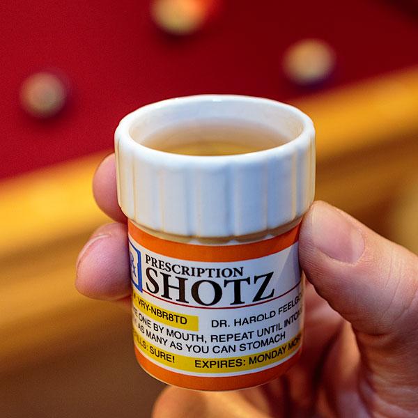 Prescription Shot Glass