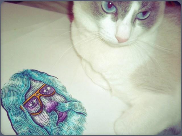 Beard and Cat