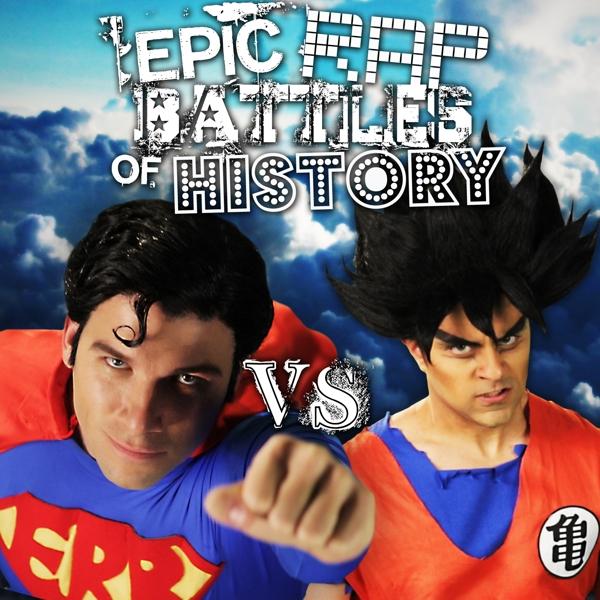 Goku vs Superman Epic Rap Battles of History