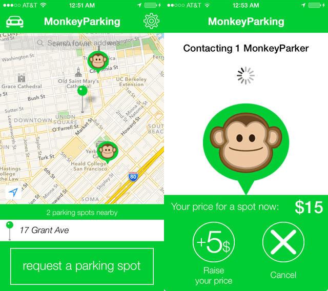 MonkeyParking App