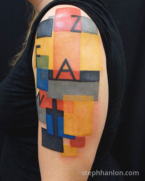 Beautiful Eclectic Tattoos by Steph Hanlon