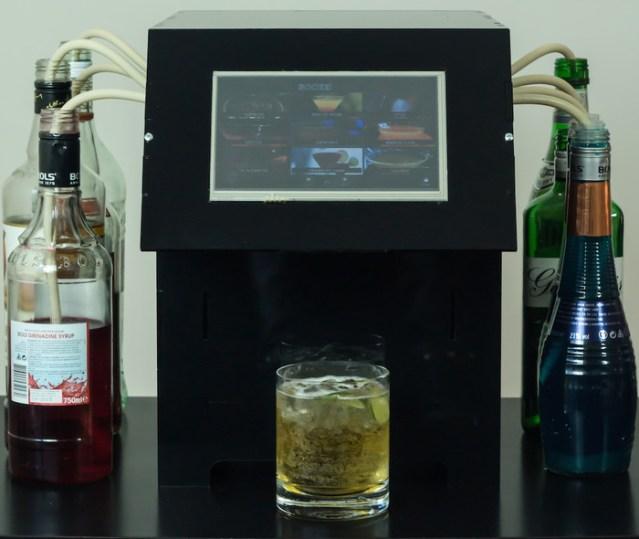 BoozeBot Cocktail-Making Robot