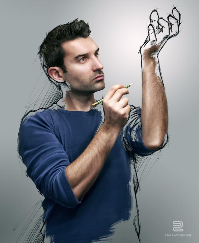 The Sketch of a Life by Sebastien Del Grosso
