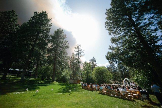 Wildfire Wedding Photos