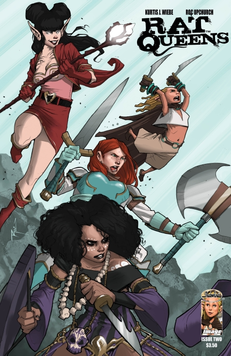 Rat Queens Comic