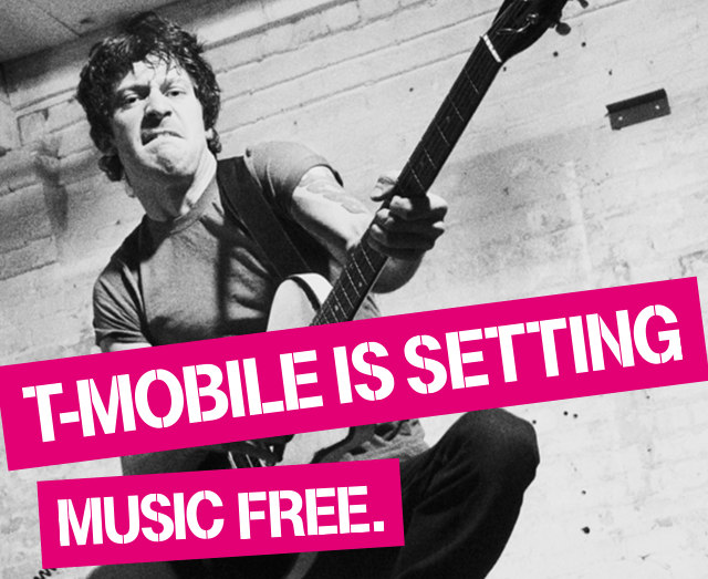 T-Mobile Free Music Streaming