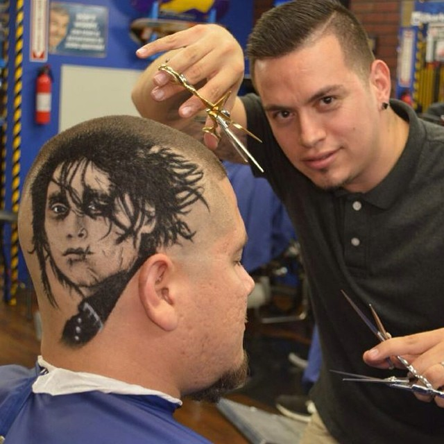 Hair Art by Barber and Artist Rob the Original