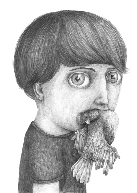 Wonderfully Bizarre Character Drawings by Stefan Zsaitsits