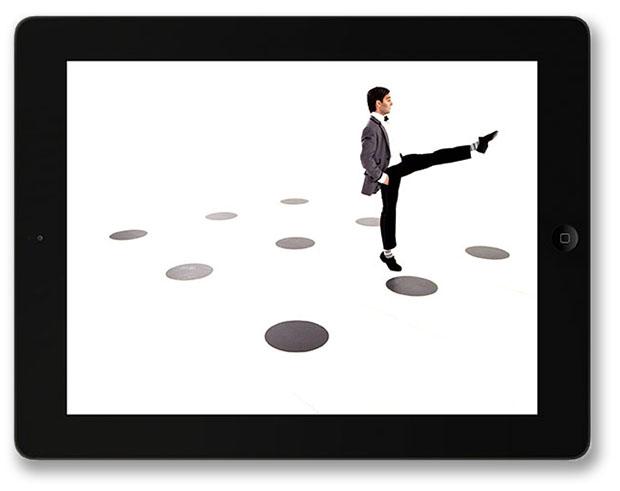Dot Dot Dot Interactive Dance App for iPad