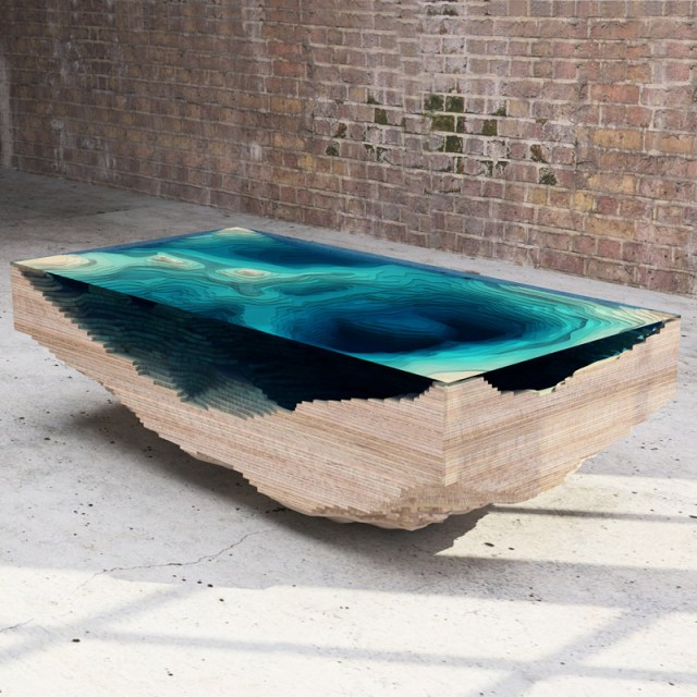 Abyss Table by Duffy London