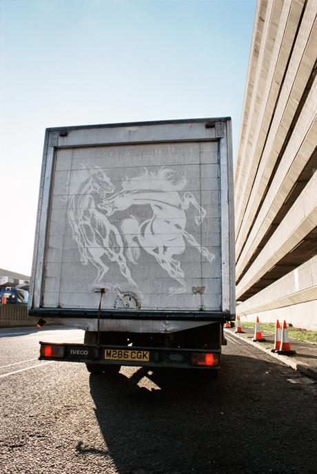 Commercial Van Art by Ben Long