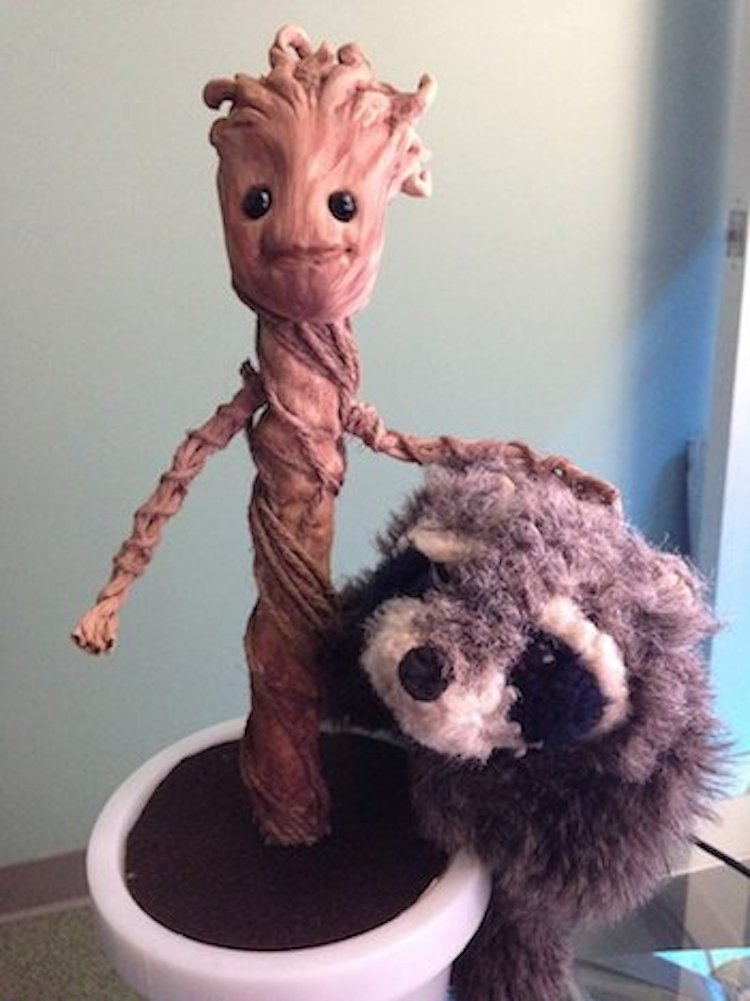 Groot and Freddy