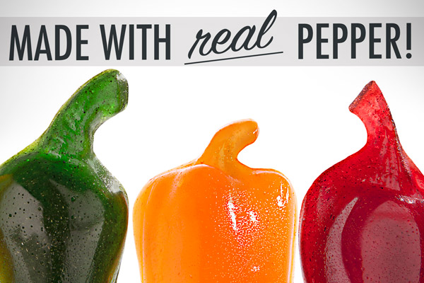 Made With Real Peppers