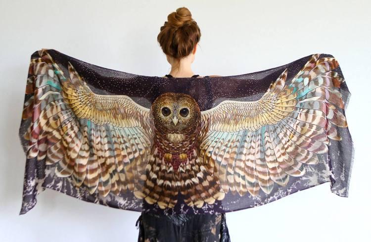 Night Owl Scarf