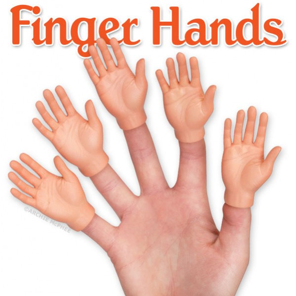 Finger Hands by Archie McPhee