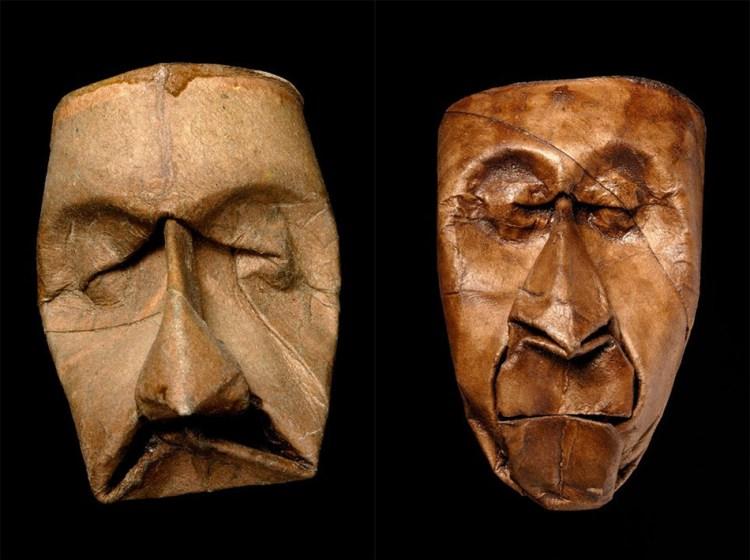Toilet Paper Tube Faces by Junior Fritz Jacquet