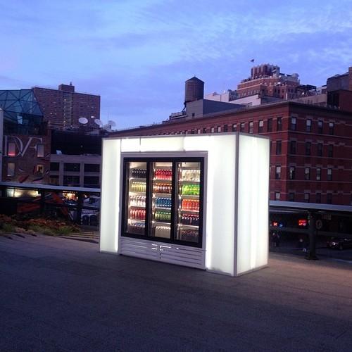 Skittles Installation by Josh Kline