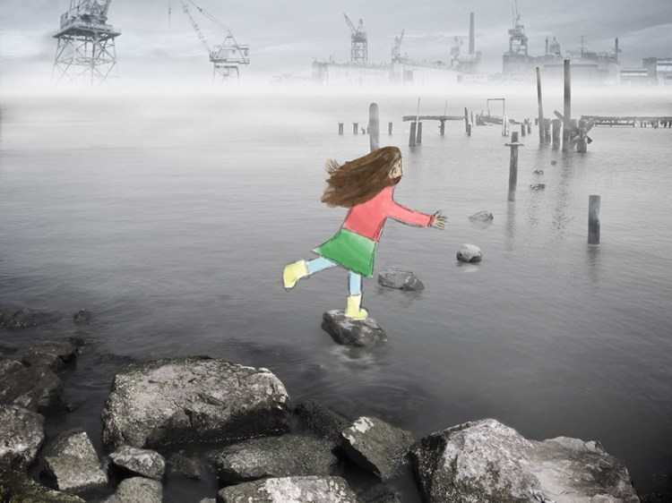 Fiona & the Fog by William Poor