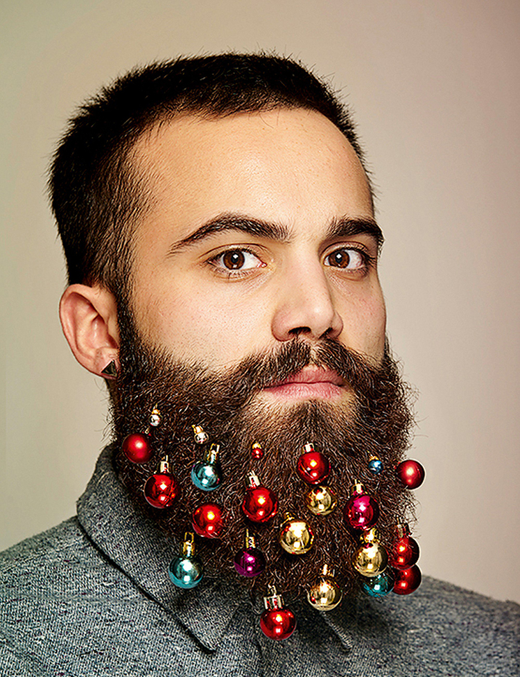 Christmas Beard Decorations Beard Baubles Tiny Christmas