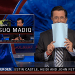 A Compilation of Times Stephen Colbert Has Cracked Up and Broken Character While Filming 'The Colbert Report'