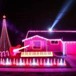 An Elaborate Christmas Light Display Synced to the Music of 'Star Wars'
