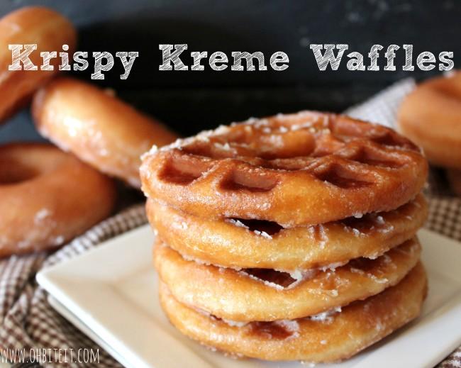 Krispy Kreme Waffles