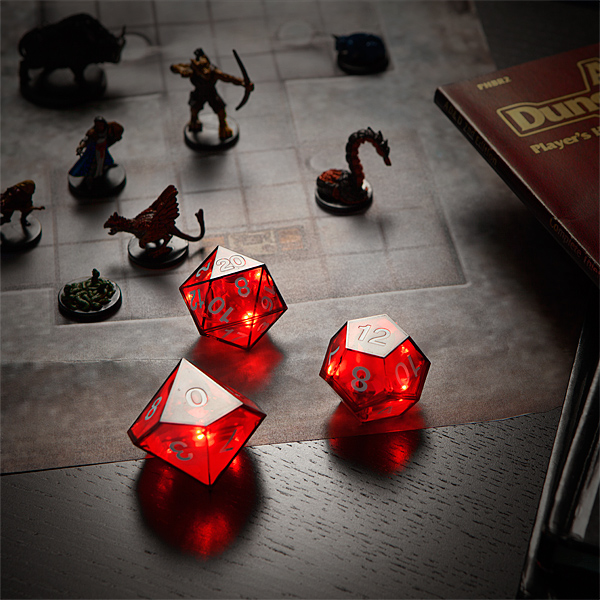 LED Dice Set