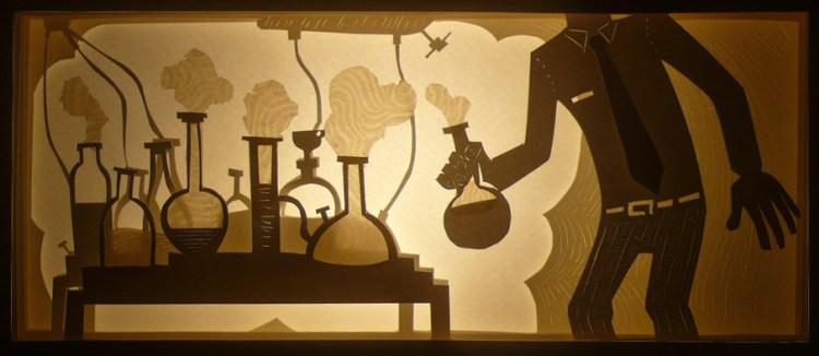Cut Paper Sculptures by Nermin Er