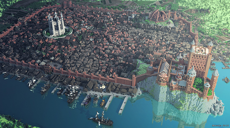 King's Landing - the capital of Westeros