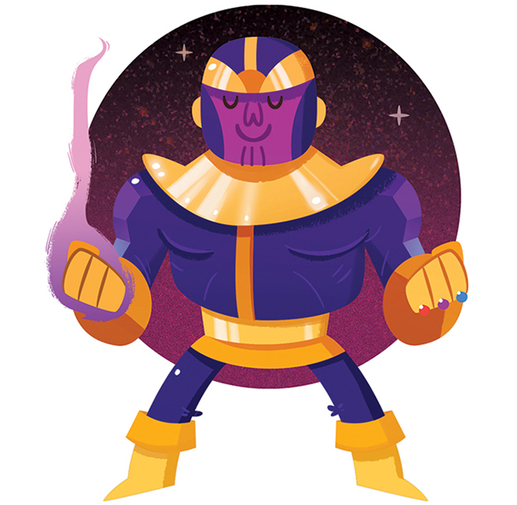Thanos by Tony Bui