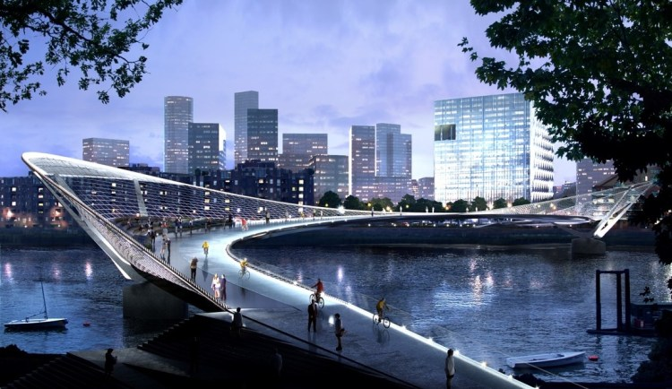 Sci-Fi Designs for London Bridge Competition