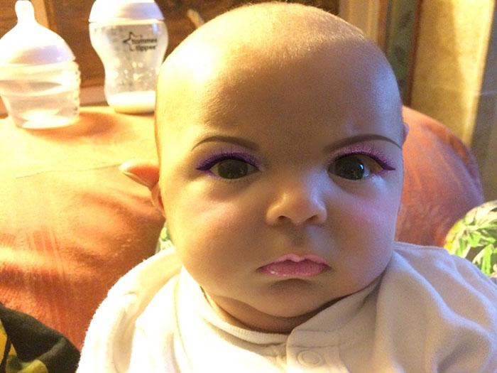 Makeup Baby 4