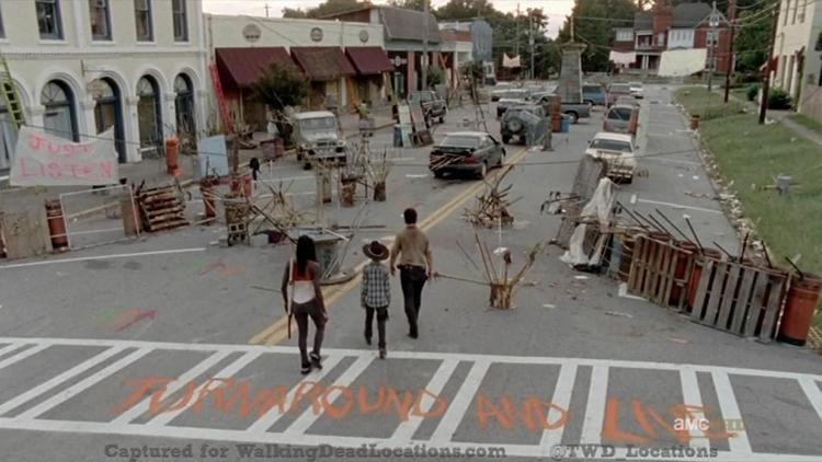 Walking Dead Town on eBay