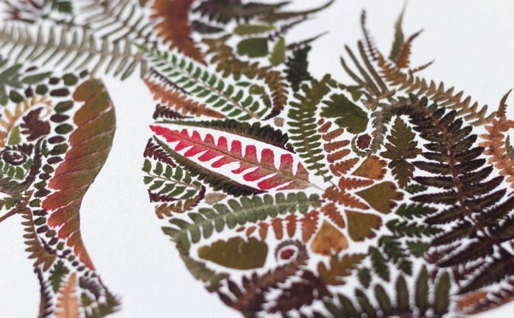 Fern leaf sea horse