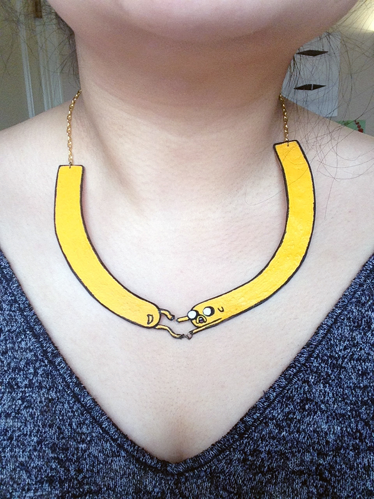 Jake Adventure Time Necklace