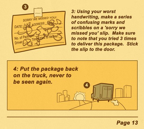 unhelfpful package delivery 2