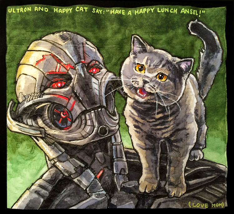 Ultron and Happy Cat
