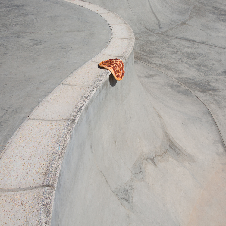 pizza at skatepark