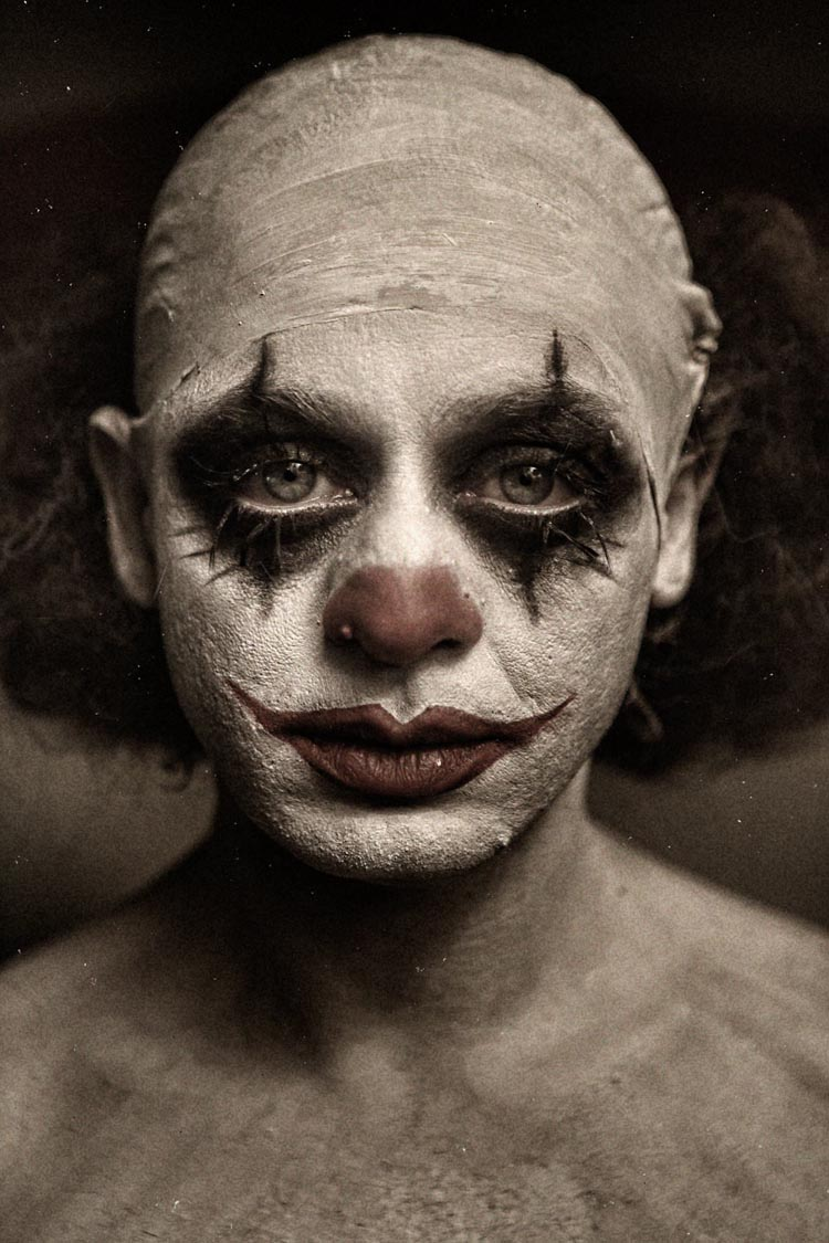Clownville Creepy Clown Photos by Eolo Perfido