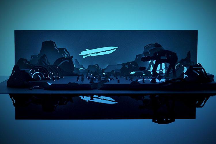 Cut Scene Star Wars