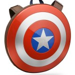 An 'Avengers: Age of Ultron' Captain America Shield Backpack for Assembling and Storing All Your Schoolwork